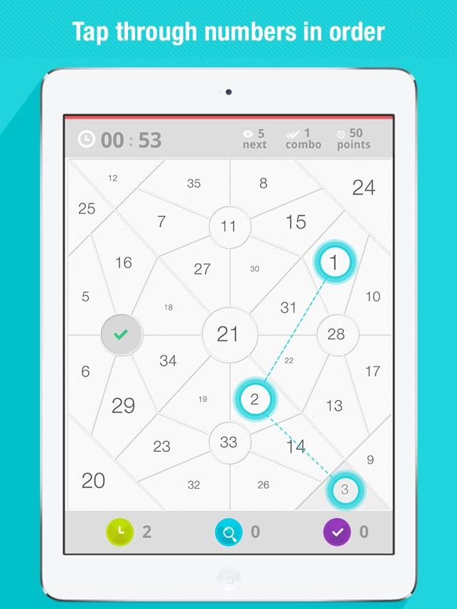 Next - Numbers Screenshot