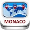 モナコ カイト&地図 - Duncan Cartography