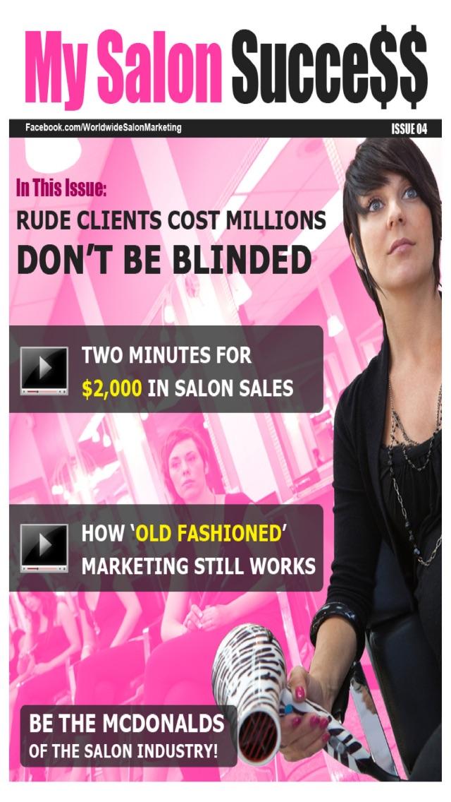 My salon success magazine app insight download for Salon success