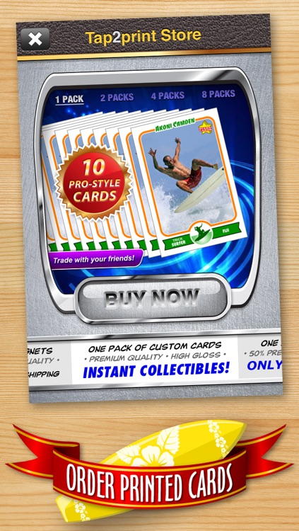 Surfing Card Maker - Make Your Own Custom Surfing Cards with Starr Cards screenshot-4