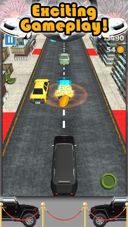 3D City Limo Racing Game with Driving and Racing Simulator Fun for Cool Boys FREE