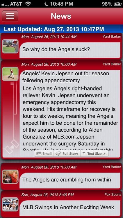 Los Angeles A Baseball Live screenshot-3