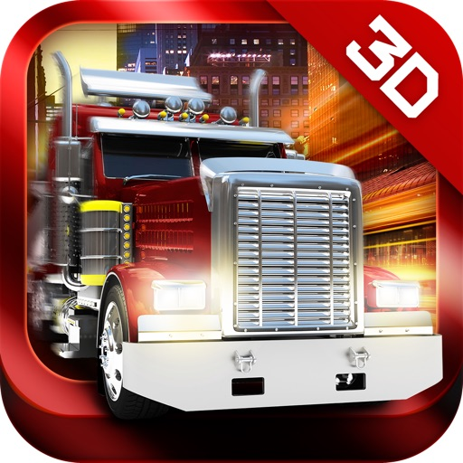 3D Trucker - Driving and Parking Simulator - Drive And Park European Container Lorry And Oil Truck - Realistic Simulation & Free Racing Game icon