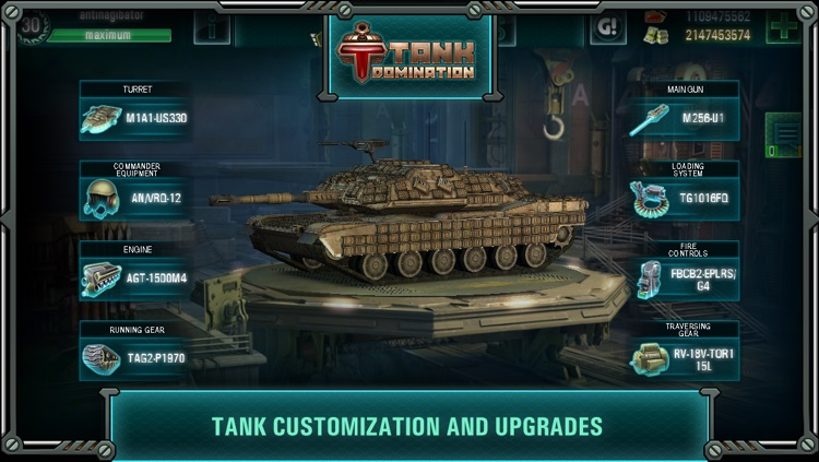 Tank Domination screenshot-1