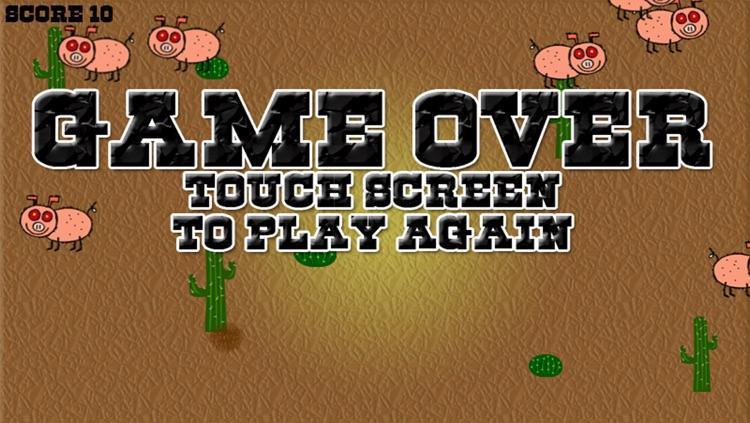 Cowboys VS Zombie Pigs screenshot-3