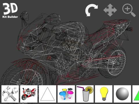 3D Kit Builder (Motorbike)のおすすめ画像3