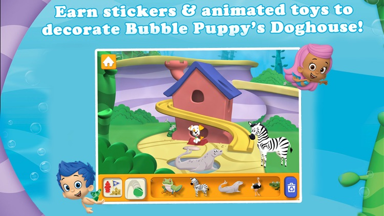 Bubble Guppies: Animal School Day screenshot-2