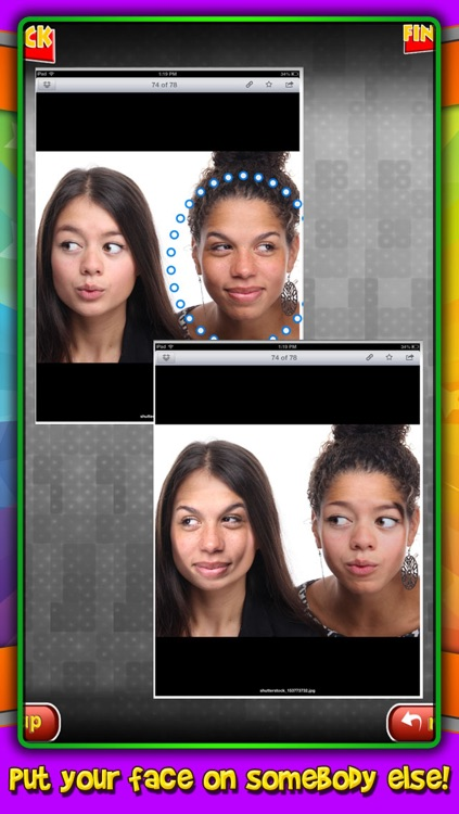 Face Swap : change faces with your friends on your camera photos