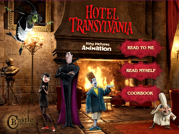 Hotel Transylvania Movie Booklip Deluxe screenshot-0