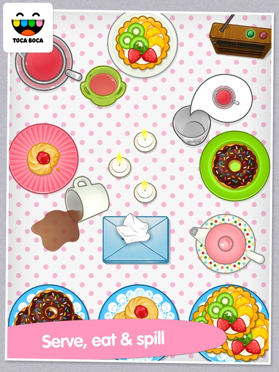 Toca Tea Party screenshot-2