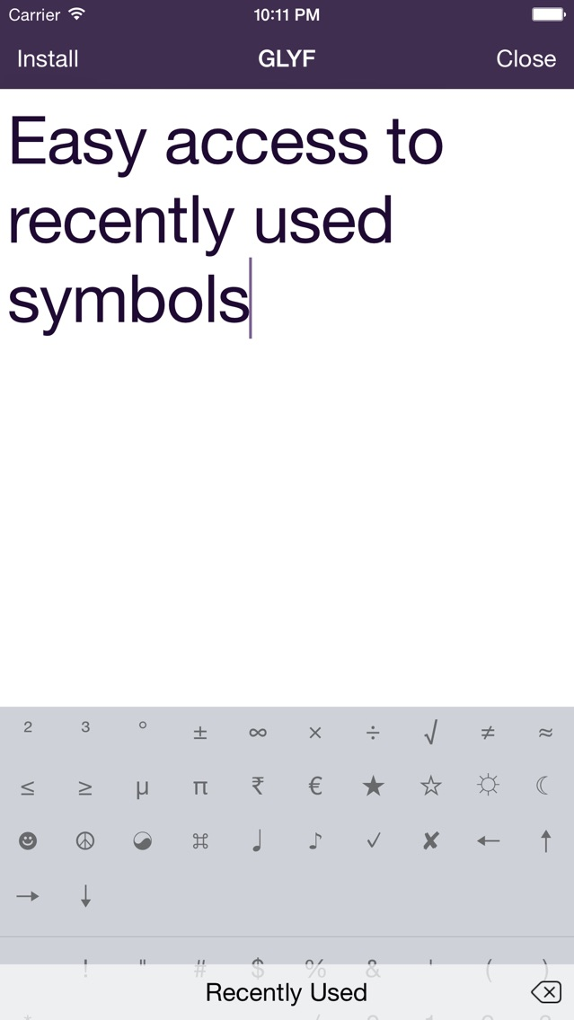 Unicode Keyboards