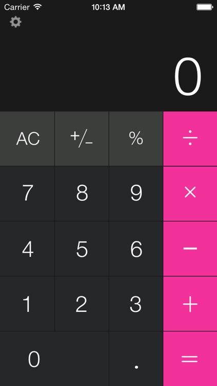 Calculator Free - for iPad