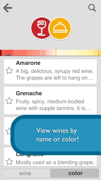 Pair It! - Food and Wine Pairings screenshot-3