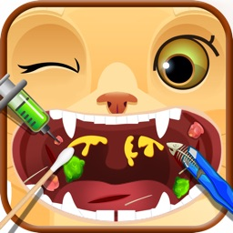 Crazy Throat Doctor for Pets - Kids Game