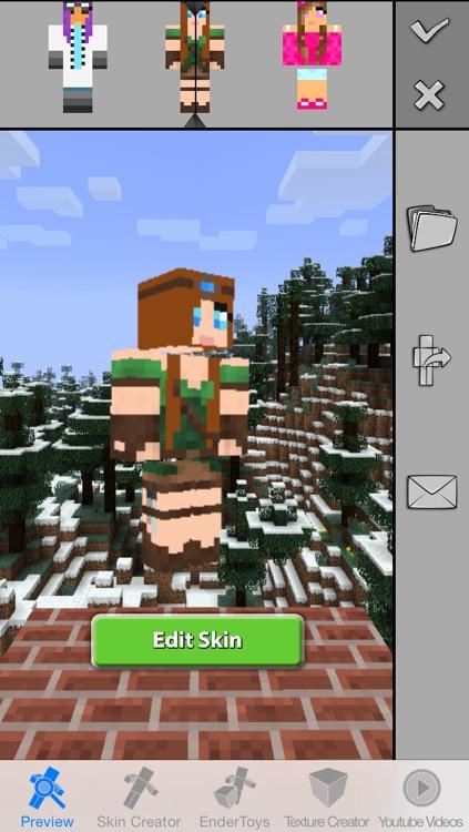 Girls Skins Pro for Minecraft Game Textures Skin screenshot-4