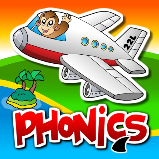 Kindergarten Phonics Island Adventure - Learn to Read Montessori Games with Puzzle Animal Train for Kids Hooked on Reading by Abby Monkey® icon