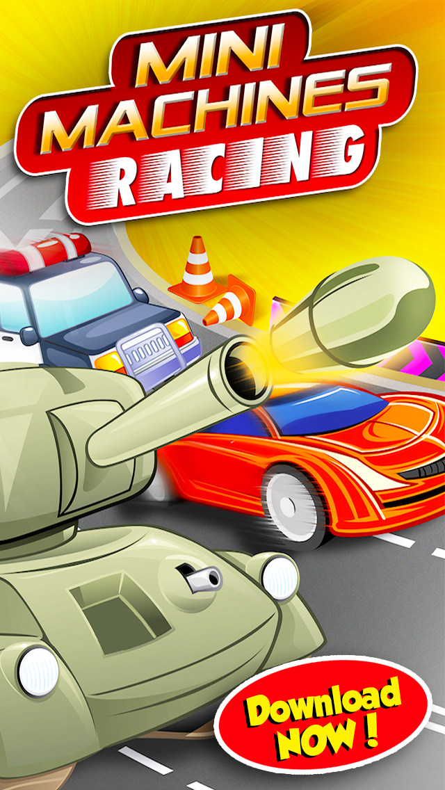 Mini Machine Crazy Car Racing GT FREE - Drag Turbo Speed Chase Race Edition - By Dead Cool Gamesのおすすめ画像2