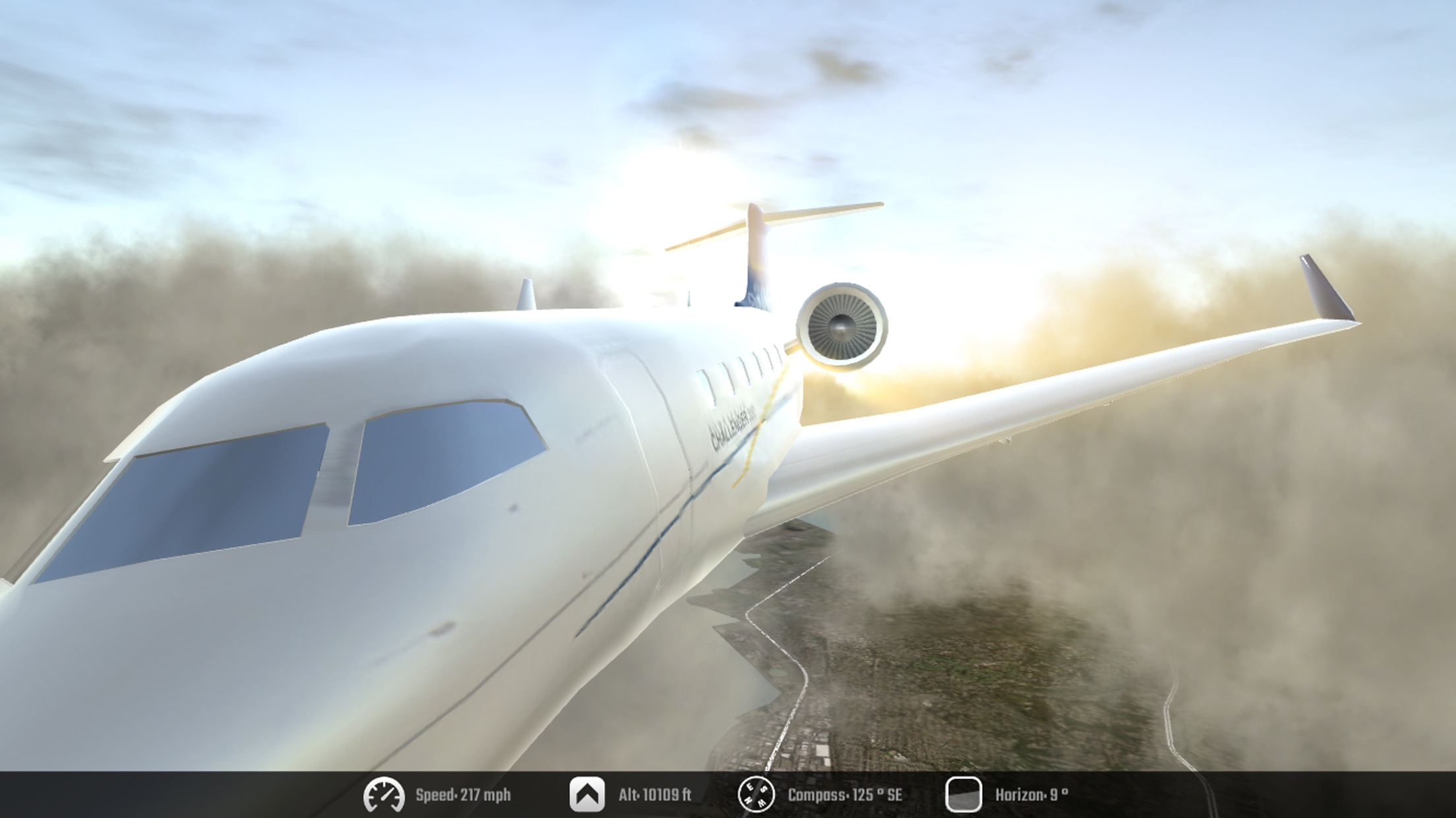 Screenshot do app Flight Unlimited X