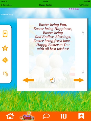 Happy easter send greetings to friends family app price drops screenshot 3 for happy easter send greetings to friends family m4hsunfo