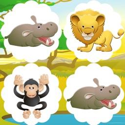 Animal-s Memo Game For Kids