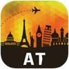 オーストリア オフラインマップ、ガイド。ホテル、天候、旅行 ウィーン,グラーツ,チロル州,ザルツブルク