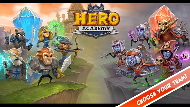 Hero Academy screenshot-1