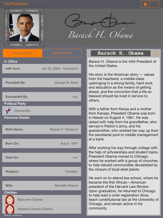 US Presidents (American President Life History) screenshot-2