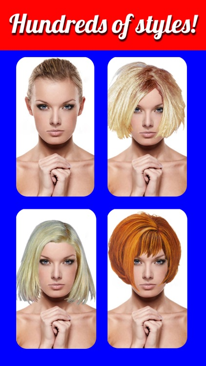 Hairstyles Makeover - Virtual Hair Try On to Change yr look by Min Li