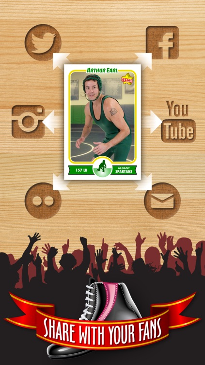 Wrestling Card Maker - Make Your Own Custom Wrestling Cards with Starr Cards screenshot-3