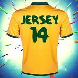 A 2014 My Jersey - For Favorite Football Soccer Team Free