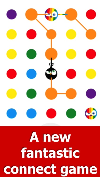 Angry Dots - Free Puzzle Game: Think, Match & Connect