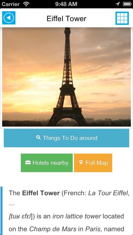 Paris offline map, guide & hotels screenshot-4