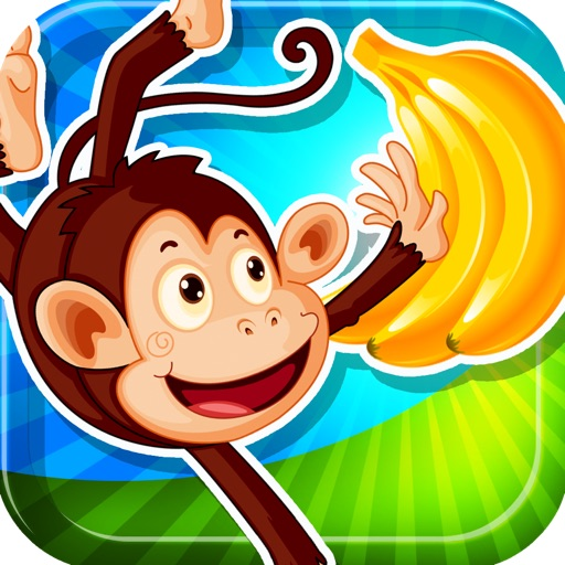 A Monkey Banana Vine Balloon Game Pro Full Version icon