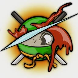Angry Ninja Slasher HD Free - The Best Bird Bone Crusher Game Challenge for iPhone & iPad