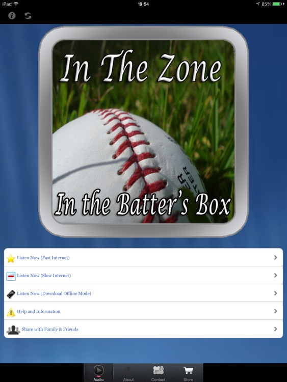 In The Zone for iPad