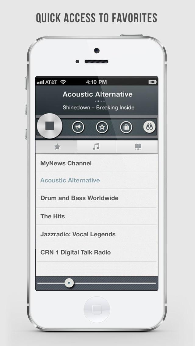 OneTuner Radio Player - tunein to RnB, Rap, DJ, HipHop