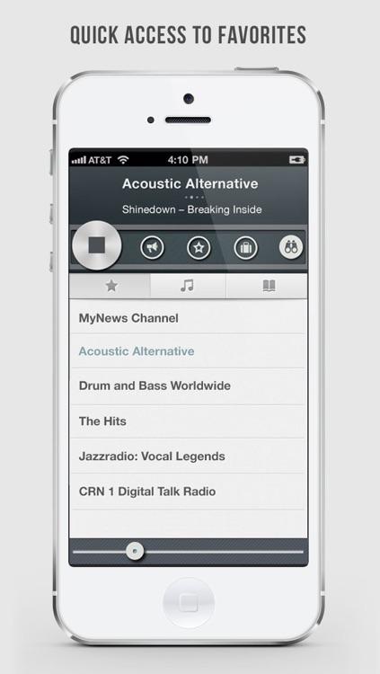 OneTuner Radio Player - tunein to RnB, Rap, DJ, HipHop, Chillout, Reggae - 65 genre stream