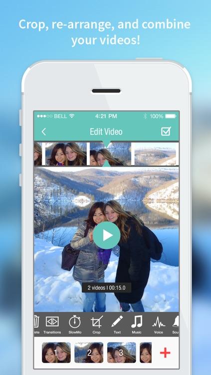 Videolab video editor for Vine, Instagram, Youtube screenshot-3