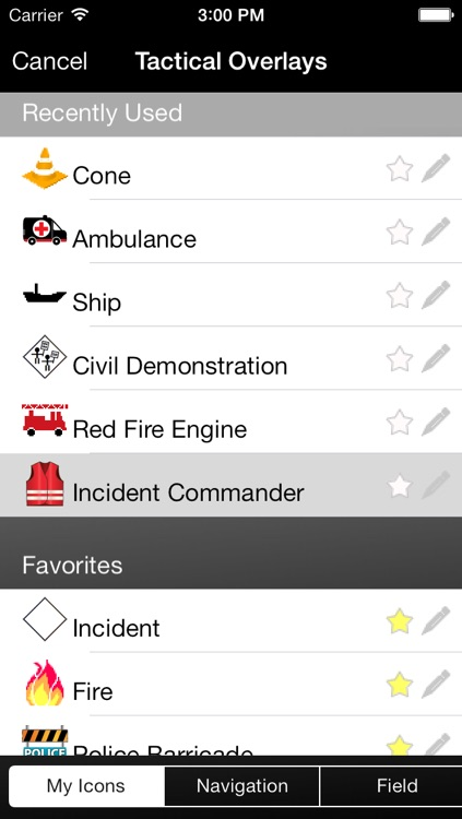 Incident Command Table screenshot-3