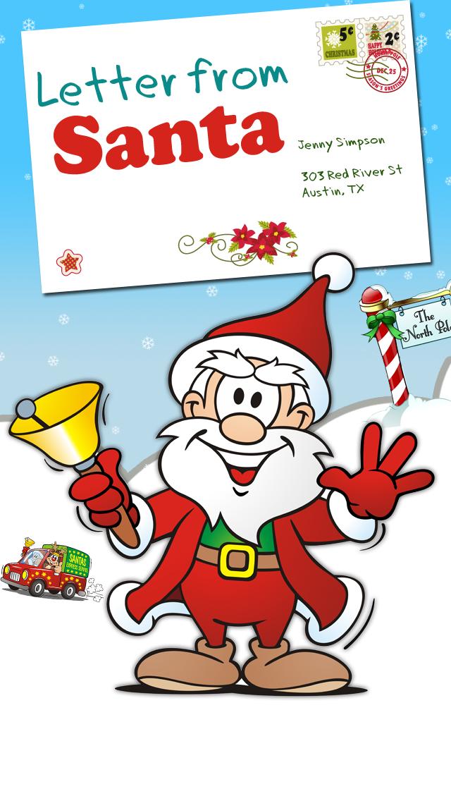 点击获取Letter from Santa - Get a Christmas Letter from Santa Claus