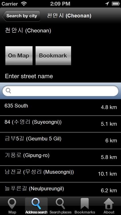 Offline Map South Korea: City Navigator Maps screenshot-3