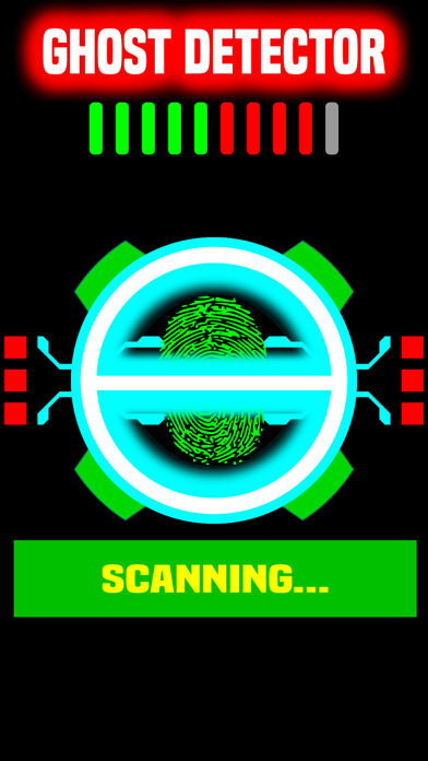 Ghost Detector - Find Ghosts Fingerprint Scanner Pro HD +