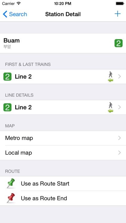 Busan City Metro - South Korean Subway Guide screenshot-3
