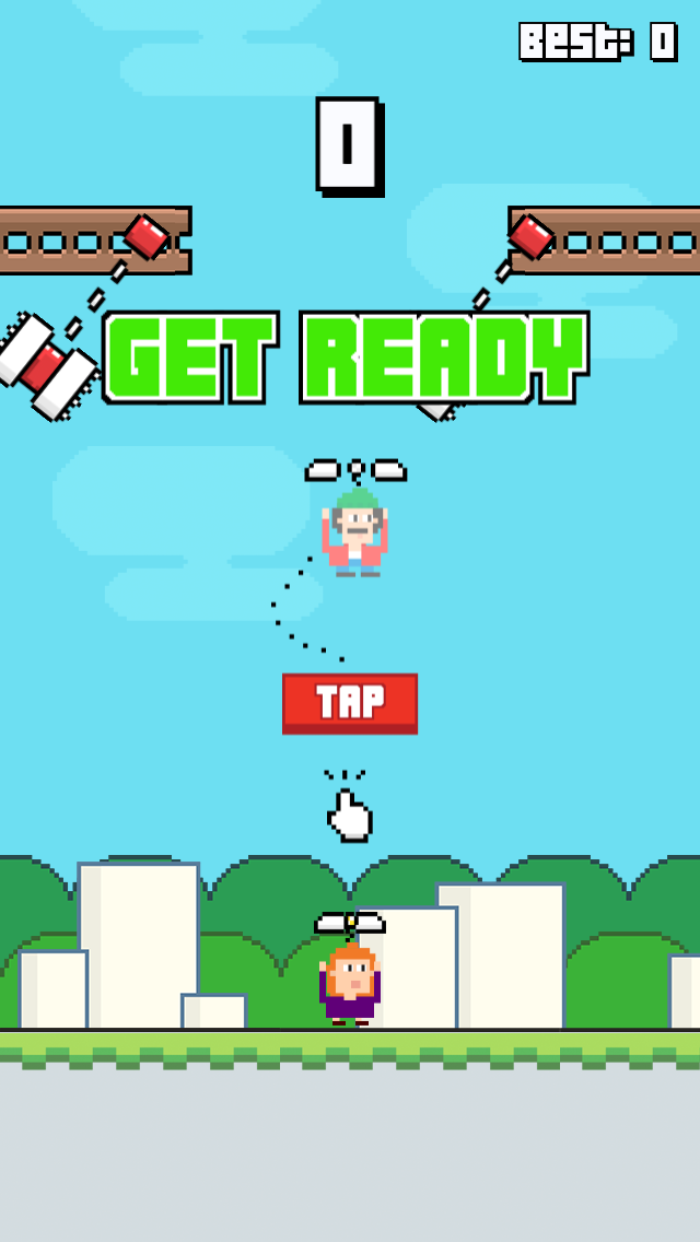 Ace Crazy Copters screenshot two