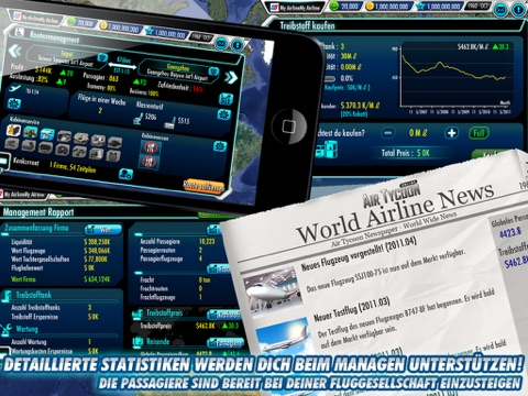 Screenshot #4 for AirTycoon Online.