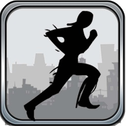 A Back flip Vector Run Dash - Runner Ninja Agent Free Game