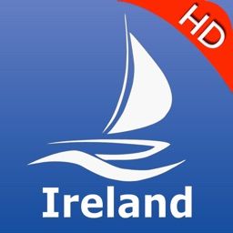 Ireland nautical Chart HD: marine & lake gps waypoint, route and track for boating cruising fishing yachting sailing diving