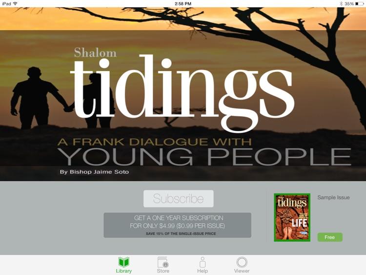 Shalom Tidings