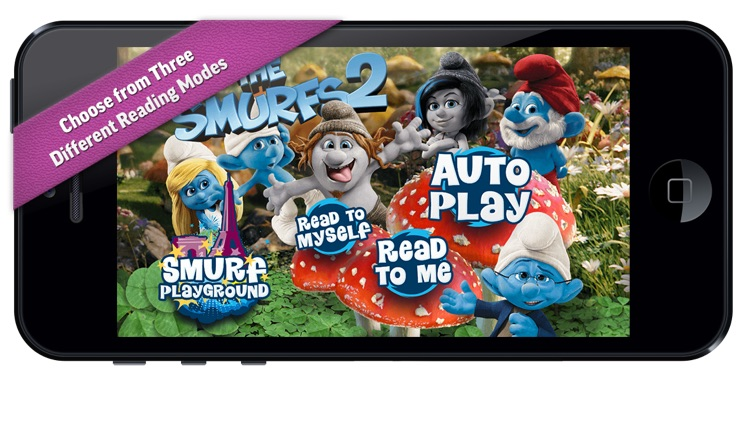 The Smurfs 2 Movie Storybook Deluxe - iStoryTime Read Aloud Children's Picture Book screenshot-0