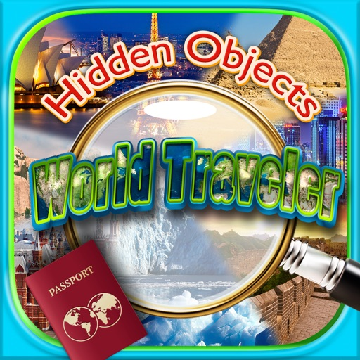 Hidden Objects: World Traveler - Rome, London, New York, San Francisco & Paris FREE